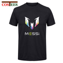 46bb55553 Men s Messi Barcelona Print Funny T Shirts Creative Punk Brand Messi T- shirts Novelty Streetwear Cool Fashion Unisex Ringer Tees