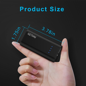 Image 2 - INIU Mini Power Bank  5200mAh USB Portable Charger Fast Charging Powerbank Pack Poverbank External Battery Charge for Xiaomi mi9
