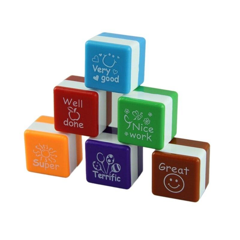 Reward Stamps Sticker Teachers Kindergarten School Motivation English Kids Children DIY