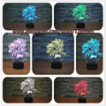 2017 Christmas New Dragon Ball Super Saiyan Monkey Son Goku 3D Table Lamp Luminaria Led Night Lights lighting illusion Lamp gift