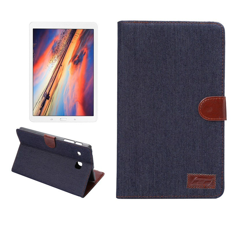 Fashion Business Cloth cover case for Samsung Galaxy Tab E T560 9.6 Christmas Gift