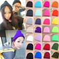Wholesale New Fashion Unisex Warm Winter Knit Knitted Crochet Slouch Skull Beanie Cap Hat
