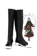 Anime naruto konan cosplay sapatos botas feito sob encomenda
