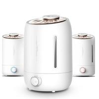 5L 350ML/H Ultrasonic Air Humidifier Aroma Oil Diffuser Ionizer Generator Aromatherapy Ag+ Purifier Mist Maker Difusor De Aroma