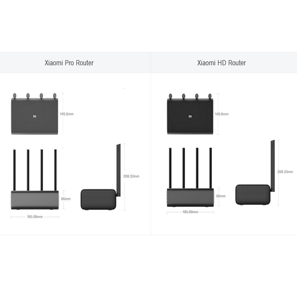 Routeur HD Xiaomi d'origine 2600Mbps 1 to HHD routeur sans fil intelligent HD 4 antenne 2.4GHz + 5.0GHz appareil réseau WiFi APP Control Pro - 3