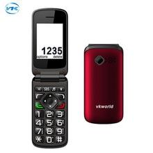 """Оригинал vkworld z2 2.4 """"tft цветной экран старейшин мобильного телефона поддержка dual sim карты/0.3mp камеры/fm/bluetooth/факел"""