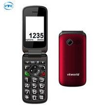 Original VKworld Z2 2 4 TFT Color Display Screen Elders Mobile Phone Support Dual SIM Card