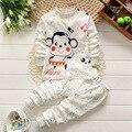 Pijamas дети пижамы для мальчиков Детей нижнее белье из хлопка шею плечо кнопка костюм Частный детский Пижамы 20 #