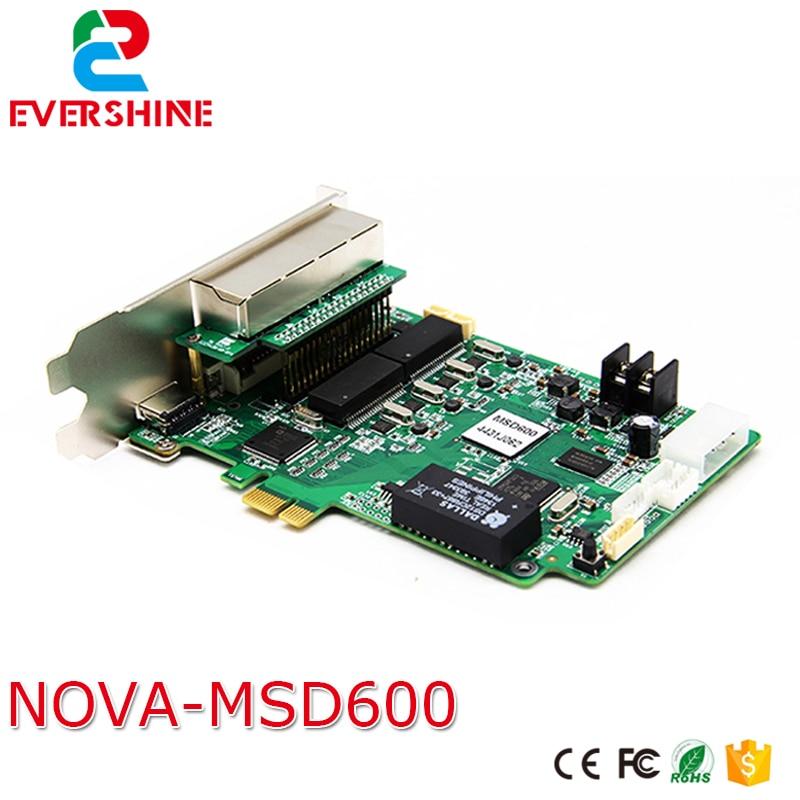 Nova RGB Full Color Video Led Display Screen Sending Card NOVA MSD600 Led Display Full Color