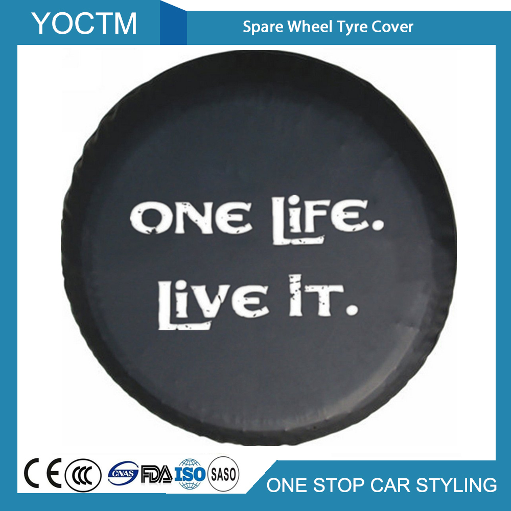 Car Styling Spare Wheel Cover Compatible For Honda CRV CR-V Spare Tire Cover 14 Inch 24-26