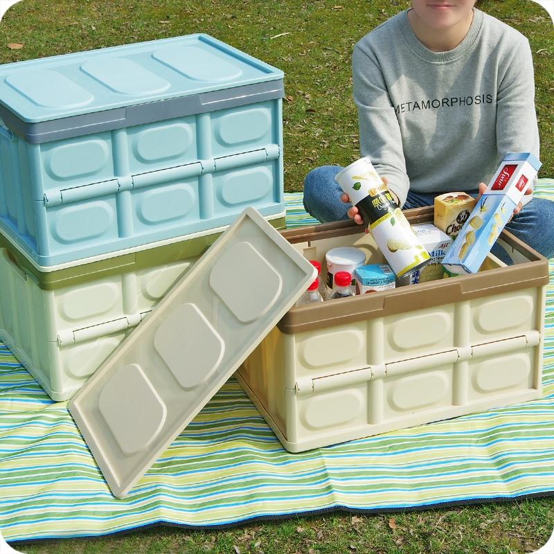 1 stück Home Faltbare Aufbewahrungsbox Kunststoff Große Aufbewahrungsbox Für Auto Sortierung Box Kofferraum Aufbewahrungsbox Organizer Lagerung-in Aufbewahrungsboxen & Behälter aus Heim und Garten bei  Gruppe 2
