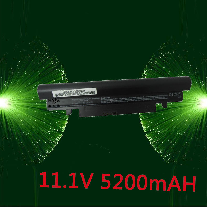 HSW 6cell battery for samsung N150 N143 N145P AA-PB2VC6B,AA-PB2VC6W,AA-PB2VC6W/B,AA-PL2VC6B/E,AA-PL2VC6W/E,AA-PL2VC6B,AA-PL2VC6W свитшот print bar innorma aa