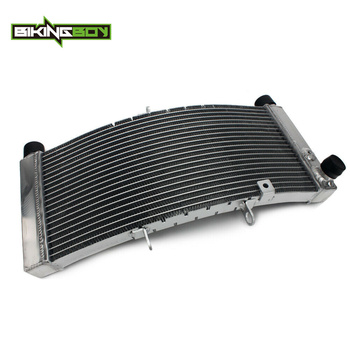 BIKINGBOY For Yamaha V-max 1700 VMX 09 10 11 12 13 14 15 16 17 18 19 Engine Radiator Water Cooling Cooler Alloy Core Polished