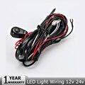 Offroad Car Led Light Bar 2.5 M 12 v 24 v 40A arnés de cableado Loom Kit de Cable con fusible y el relé para Auto luz de conducción del trabajo