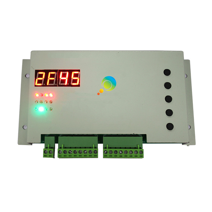 DC12V New Design Four Directions One Intersection Traffic Light Controller Card For Solar Portable Traffic Light