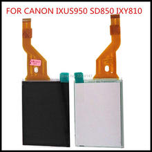 New LCD Display screen Show Contact Digitizer Alternative Restore Half For Canon IXUS950 SD850IS IXY810 PC1235 IXUS 950 Digicam