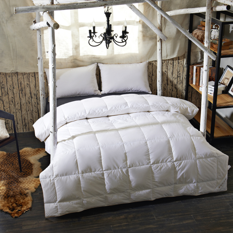 90 goose down comforter for summer twin queen size duvet blanket quilt white pink 100 cotton. Black Bedroom Furniture Sets. Home Design Ideas