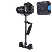 DHL Free PULUZ S60T Max 2.5kg 60cm Carbon Fiber Handheld Stabilizer Steadicam for Camcorder Camera Video DSLR Carbon Fiber