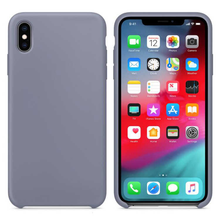 on sale bcbc4 2f206 Have LOGO Official Original Liquid Silicone Case For Apple iPhone XS Max XR  X 8 Plus 7 6 6S Rubber Soft Cover With Retail Box