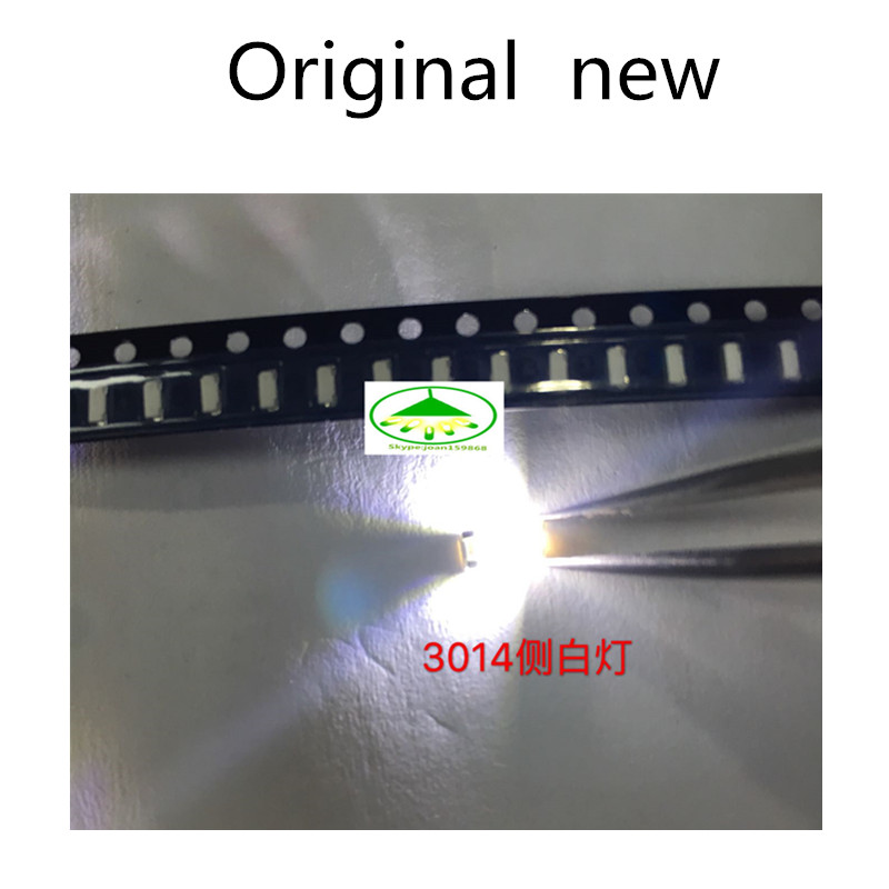Light Beads Lights & Lighting 300pcs 3014 Smd Led Chip White Ultra Bright 0.1w 11-13lm 30ma 3v Surface Mount Chip Light Emitting Diode Lamp Smd 3014 Led Bead To Adopt Advanced Technology