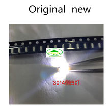 300pcs 3014 SMD LED Chip White Ultra Bright 0.1W 11-13LM 30mA 3V Surface Mount Chip Light Emitting Diode Lamp SMD 3014 LED Bead(China)