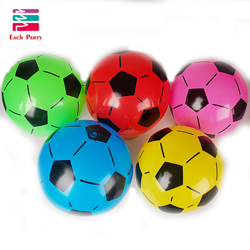 PVC football Inflatable toys globos Children classic toys air balls rubber ball