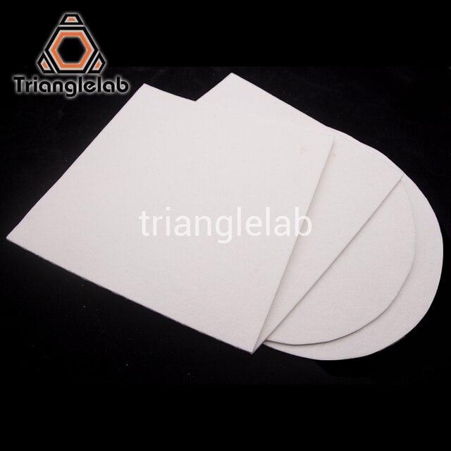 Trianglelab 3 MM grosor aislamiento térmico impresora 3D calor bloque de cama aislamiento de algodón para TEVO Reprap Ultimaker Makerbot