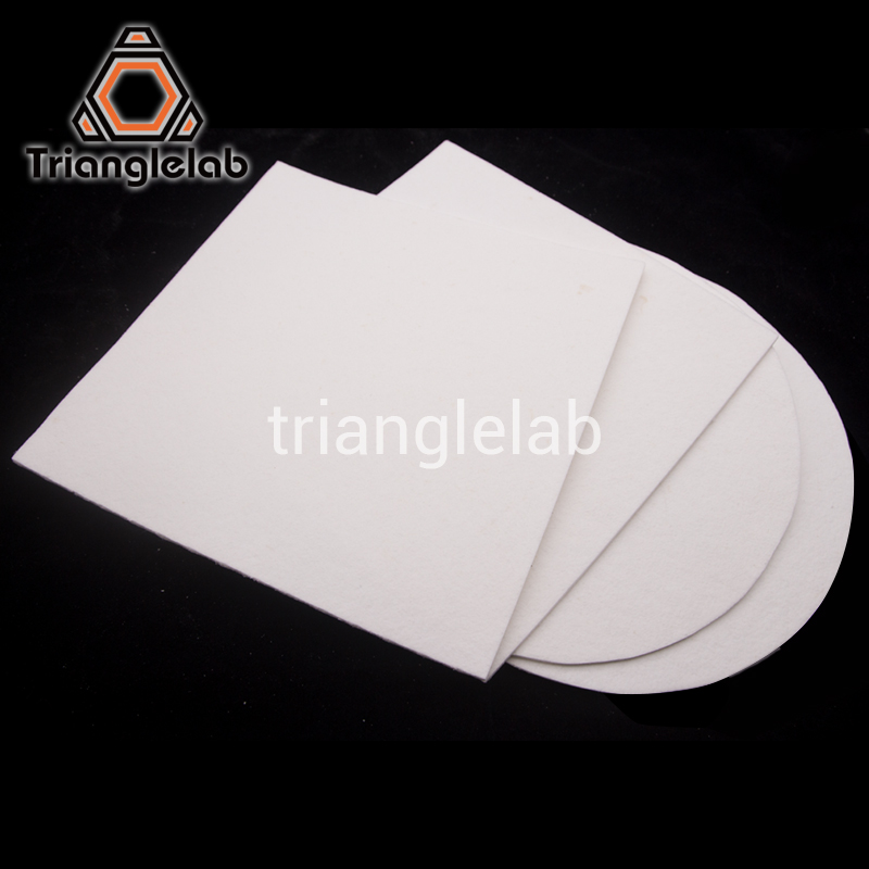 Trianglelab 3MM Thickness Thermal Insulation 3D Printer Heating Bed Block Insulation Cotton For TEVO Reprap Ultimaker Makerbot