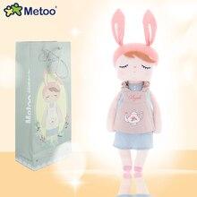 Metoo Big or Small Angela Sleep Toy Rabbit Plush Dolls Stuffed Animal Kids Toys for Children Birthday Christmas Gift Doll