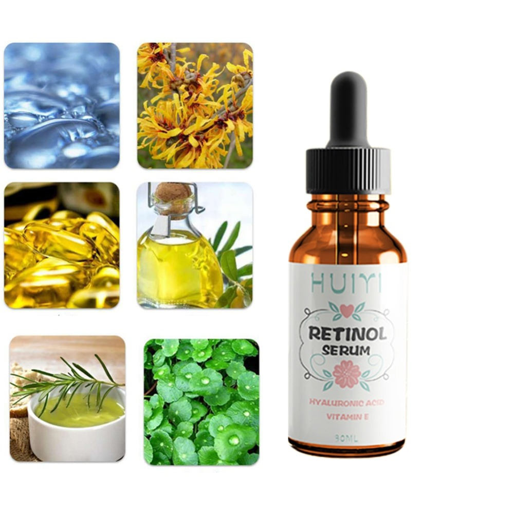 Lifting Renews Skin Retinol Serum Moisturizing Essence Skin Care Anti-Wrinkle Anti-drying Anti-oxidation Face Eye Serum A2