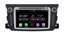 Quad core Android 5.1.1 DVD de Voiture Lecteur GPS pour Mercedes/Benz Smart Fortwo 2012 2013 2014 avec Miroir-lien Radio WiFi BT