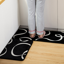 Stylish Kitchen Floor Mat Decoration Anti-slip Non-slip Absorbent Rug Home Entrance Door