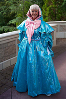 Fairy Godmother Cosplay Costume Gown Cinderella Godmother Cosplay Costume