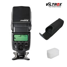 Viltrox JY-680C Camera TTL Flash Speedlite + Flash Bag + Bounce Diffuser for Canon 1200D 760D 750D 700D 600D 70D 60D 5D IV DSLR