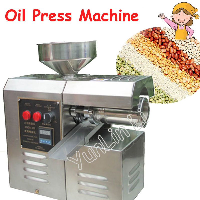 цены на Domestic Oil Press Machine High Oil Extraction Machine Labor Saving Stainless Steel Oil Presser SG30-2D