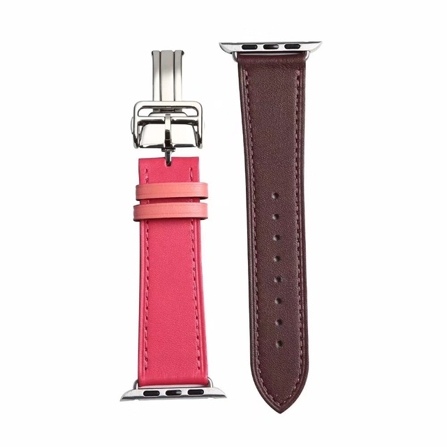 watchband for iwatch series 4 3 2 1 strap 40mm 44mm For Apple Watch band 42mm 38mm leather loopseries 5 | Watchbands