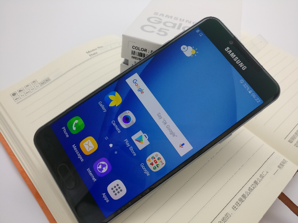 Original Samsung Galaxy C5 LTE móvil teléfono c5000 Octa Core 1,2 \ 1,5 GHz 4 gb/32 gb 16MP Cámara NFC - 5