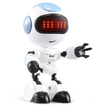 JJRC R8 Touch Sensing LED Eyes RC Robot Smart Voice DIY Body Gesture Model Toy Touch Sensing of Head Voice Interaction Function