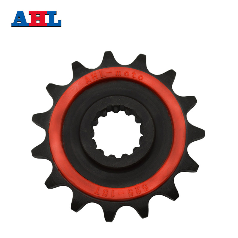 Motorcycle Parts 15T Front Sprocket For KAWASAKI ZX 6R ZX-6R 95-97 Honda CB400SF 1992-08 CB 500 PC26/PC32 1994-01 Fit 525 Chain