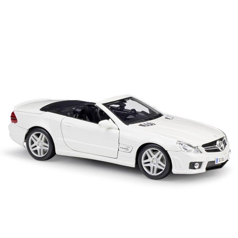 1:18 Maisto Benz SL63 AMG/280SE/SL550/190SL modèle de voiture moulé sous pression