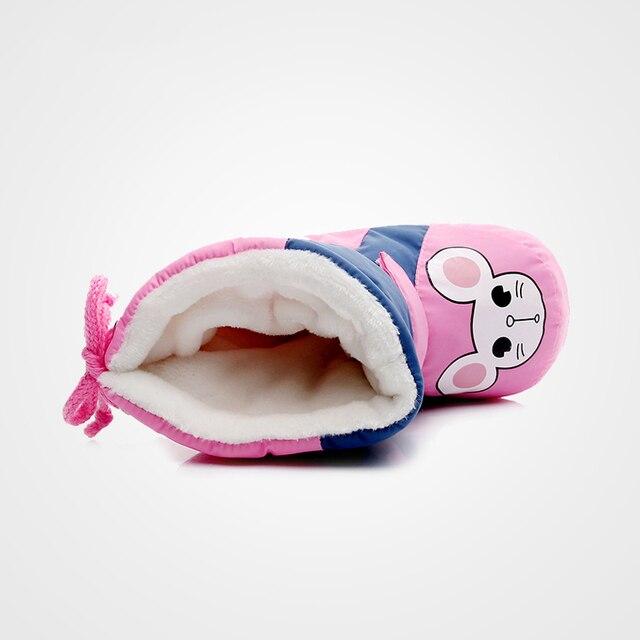 Фото детская хлопковая обувь; зимняя теплая обувь для младенцев;