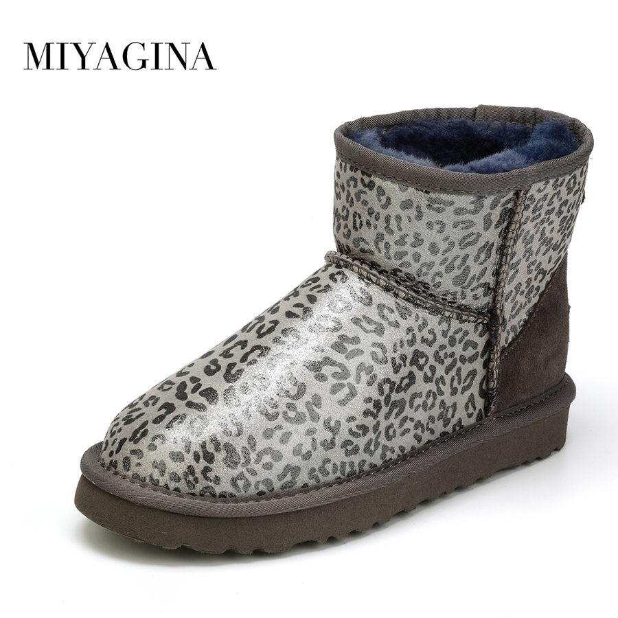 Top Quality Real Wool Botas Mujer New Fashion Winter Ankle Shoes For Women 100% Genuine Sheepskin Leather Natural Fur Snow Boots sexemara brand 2016 new collection winter boots for women snow boots genuine leather ankle boots top quality plush botas mujer