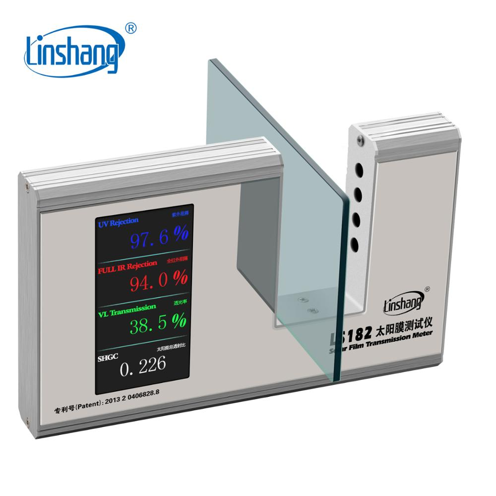 Linshang LS182 SHGC Window Energy Meter with UV Full IR Visible light transmittance Solar Heat Gain