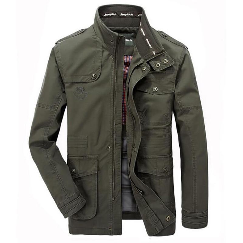 Veste hommes casual coton coupe-vent vestes hommes militaire Outwear vol veste grande taille 7XL hommes Slim Trench livraison gratuite
