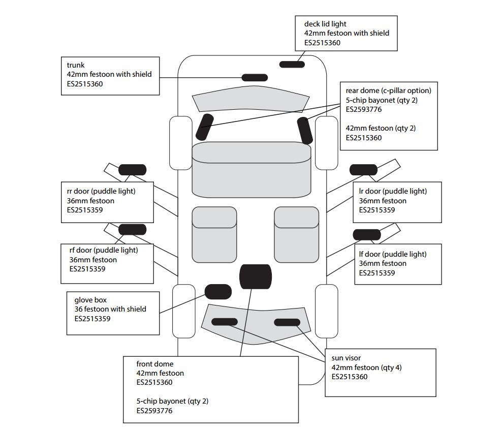 Free Shipping 18pcs Lot Car Styling Xenon White Canbus Package Kit Light Wiring Diagram For Door Led Interior Lights Bmw E38 In Signal Lamp From Automobiles Motorcycles On