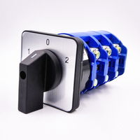 1PCS Ui 660V Ith 160A ON OFF ON 3 Position Rotary Cam Changeover Switch