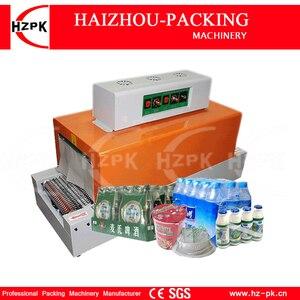 HZPK automatyczne kurczyć maszyna folia PVC kurczenie się ciepła pakiet rękaw kurczyć plastikowa pakowarka stałe napięcia w stanie BS-260