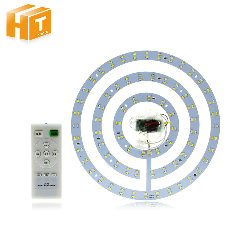 Ceiling Lamp LED Lighting Plate White / Warm White Adjustable Convenient Installation Re ...