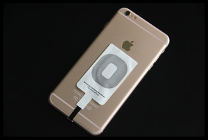 Image 5 - 2 Pieces Android Micro USB Qi Wireless Charger Receiver Charging Adapter Receptor Induction Receiver Chip For iphone Samsung