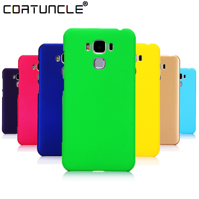 Phone Case <font><b>For</b></font> <font><b>Asus</b></font> <font><b>Zenfone</b></font> 4 Selfie ZD552KL ZD553KL ZC553KL <font><b>ZE554KL</b></font> Case 360 Matte Hard plastic PC Candy Color Back <font><b>Cover</b></font> Case image